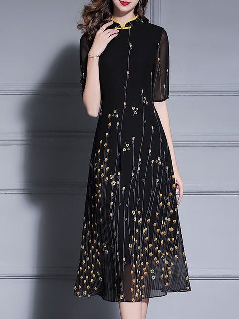 12cc0c5e730 Buy Chiffon Dresses Midi Dresses For Women from Fantasyou at Stylewe. Online  Shopping Stylewe Party
