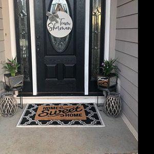 Shabby Elegance Wooden Door Hanger