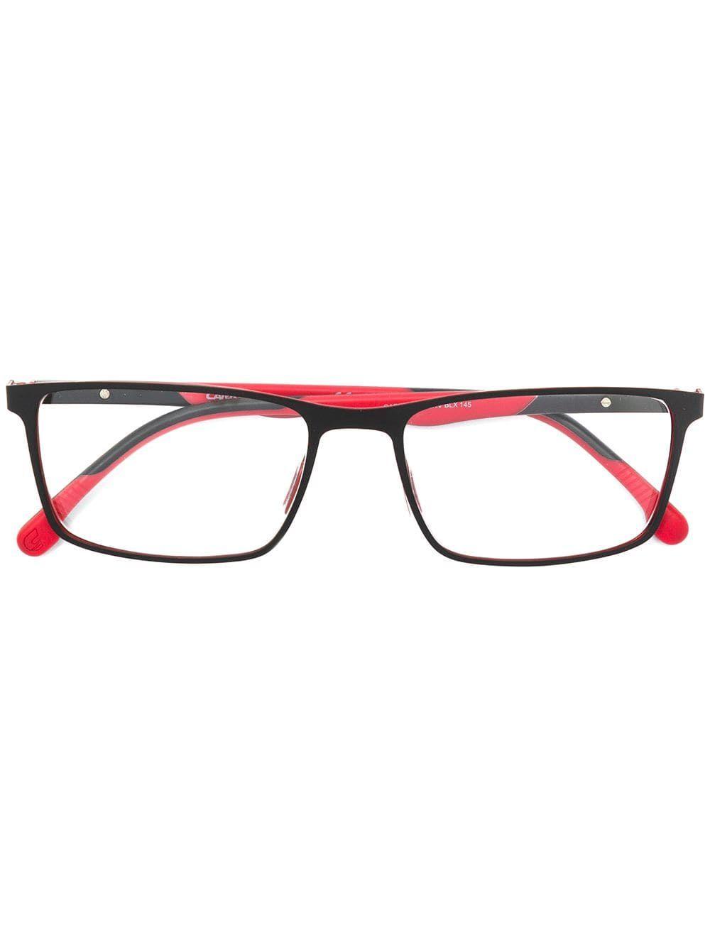 412542f16a CARRERA CARRERA RECTANGULAR FRAME GLASSES - RED.  carrera