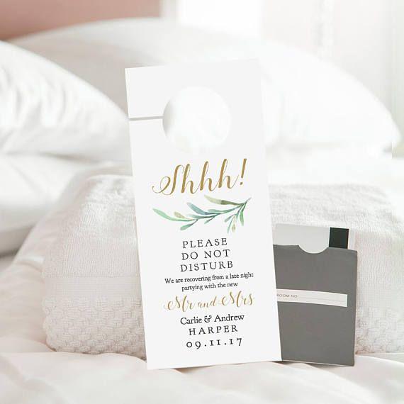 do not disturb door hanger printable wedding door hanger. Black Bedroom Furniture Sets. Home Design Ideas