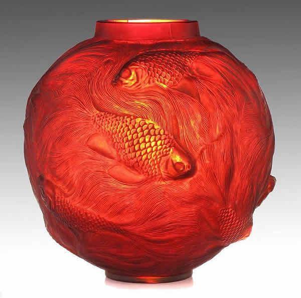 Rene Lalique Vase Formose Deco Style Artnouveau Pinterest