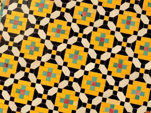 Tehran palace mural mosaics