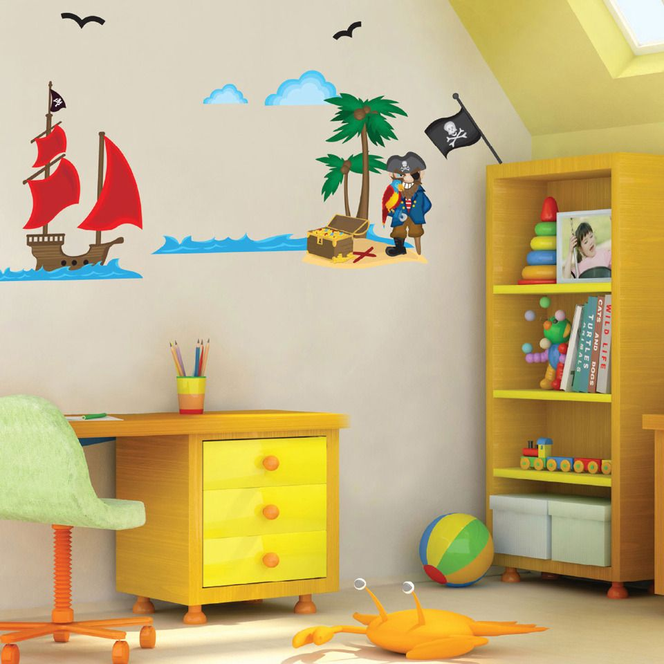 Fine Decorative Wall Stickers For Kids Rooms Photos - The Wall Art ...