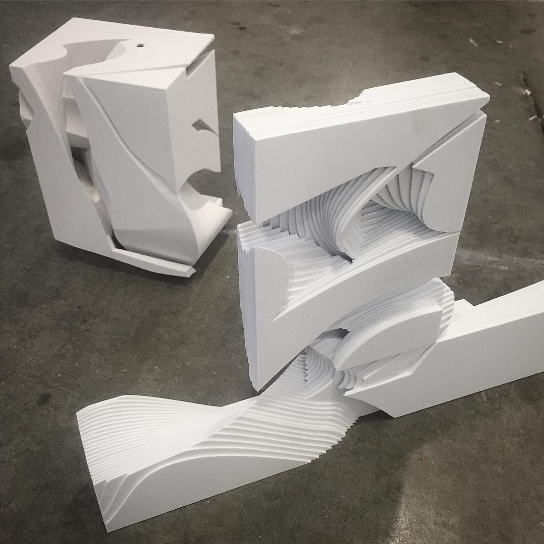 Architecture Design Models another set of models from my 4th year design studio at sci-arc