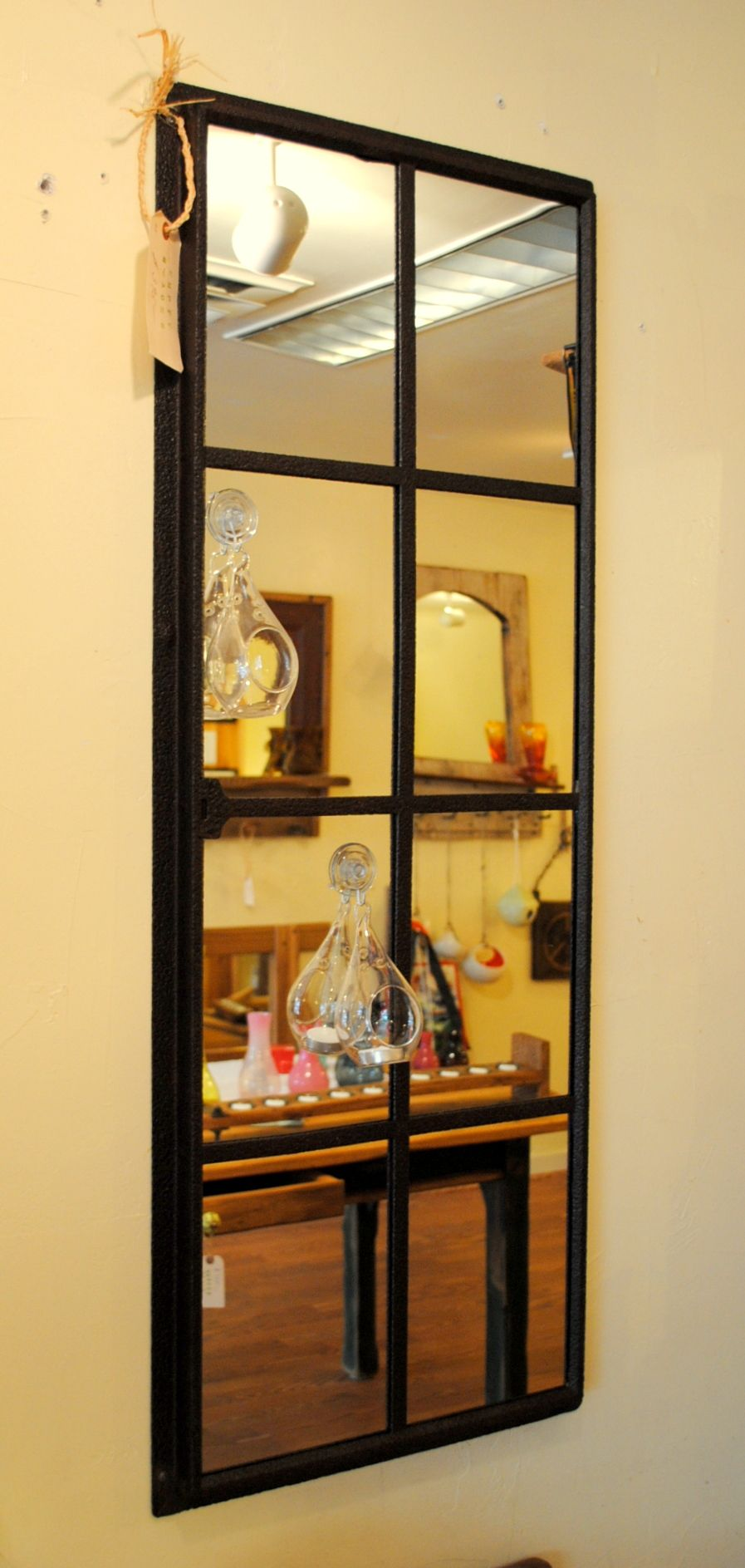Rustic Window Pane Mirror   Window pane mirror, Window frames and ...