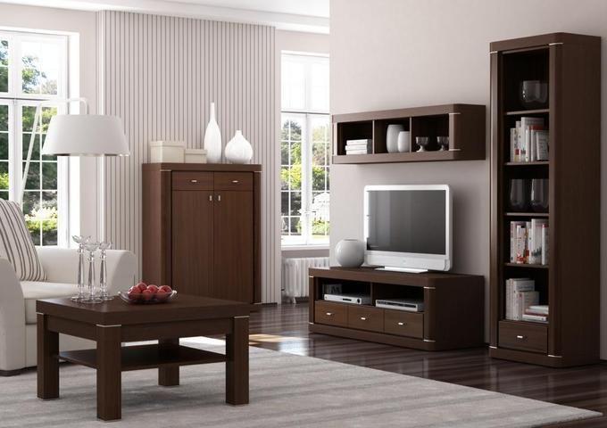 Brazowe Meble Szare Sciany Szukaj W Google Furniture Dark Wooden Furniture Luxury Homes Interior