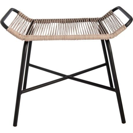 Awesome Three Hands Metal And Plastic Patio Stool 20X23 5 In 2019 Dailytribune Chair Design For Home Dailytribuneorg