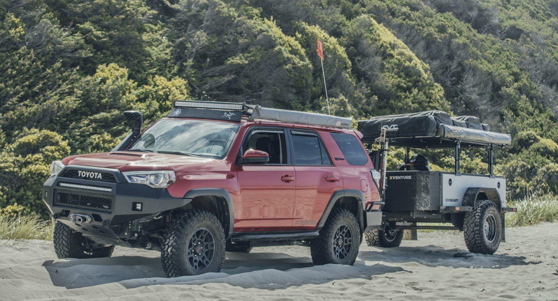 Isaac Marchionnas TRD Pro 4Runner Lawndart Build With Long Travel Suspension Pelfreybilt