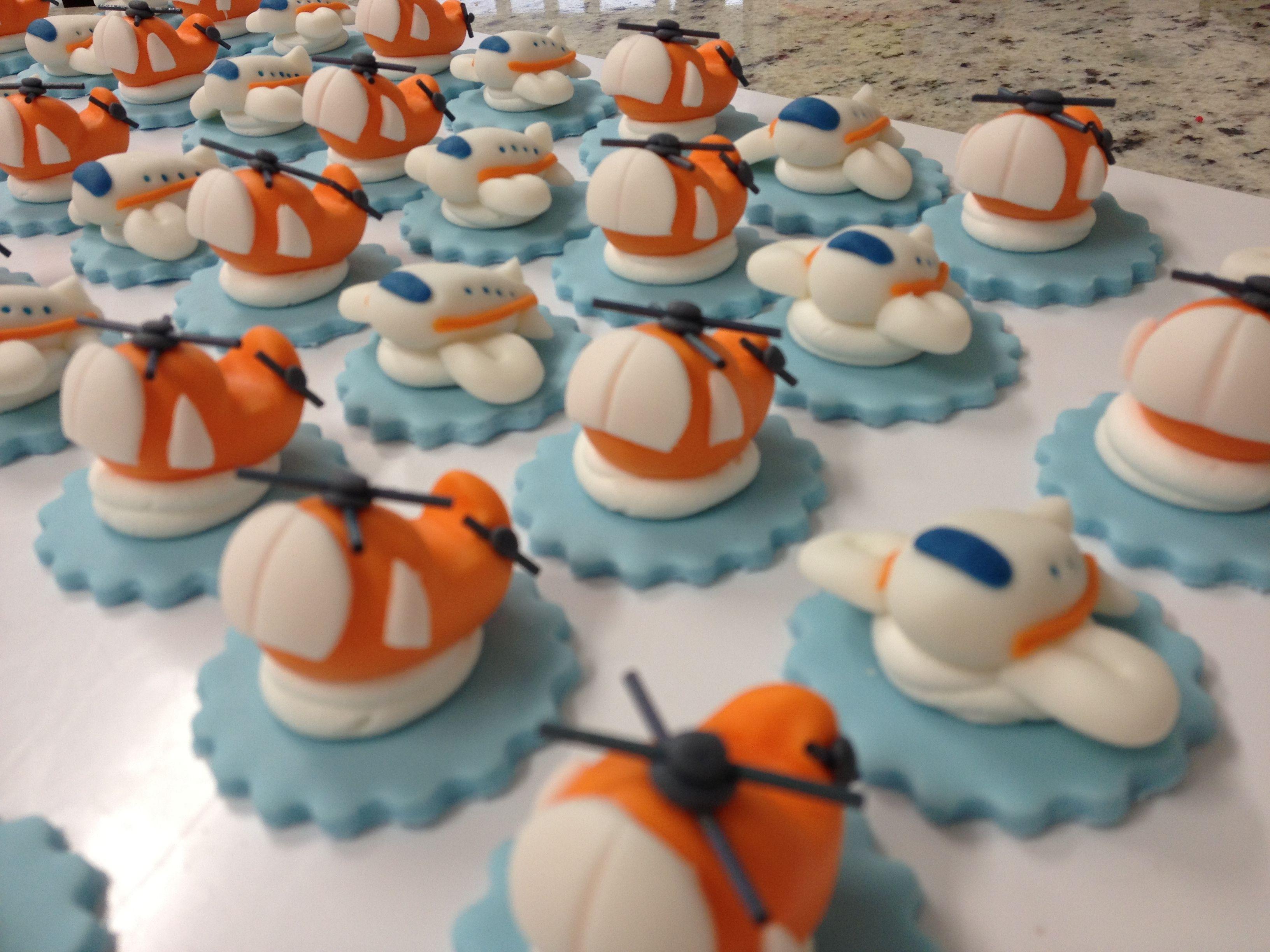 Edible Airplane Cake Decorations