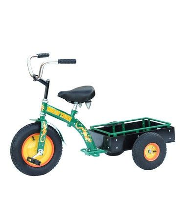 Take a look at this Green Pick-Up Ranch Trike by Backyard Oasis Boutique on #zulily today! houseoft