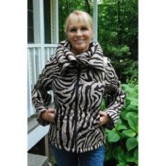 Beige Black Missy Contemporary Jacket - Love this Stuff