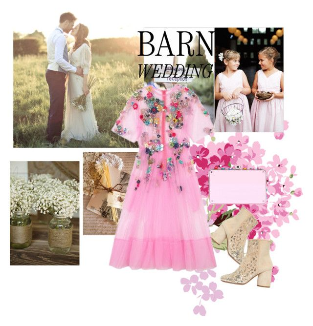 """""""Untitled #391"""" by m-jelic ❤ liked on Polyvore featuring Maison Margiela, bestdressedguest and barnwedding"""
