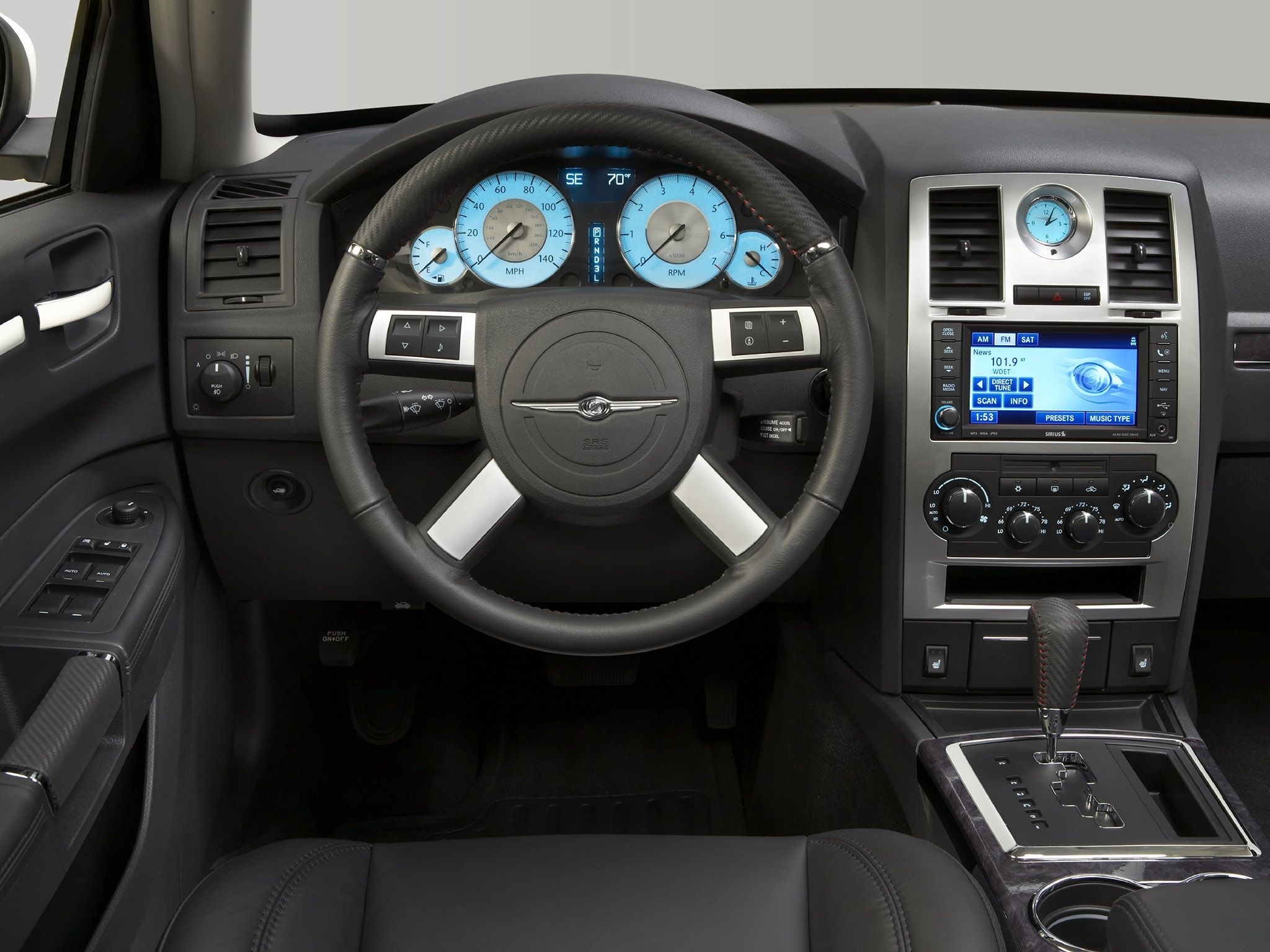 2011 chrysler 300 interior wallpapers 2008 chrysler 300c. Black Bedroom Furniture Sets. Home Design Ideas
