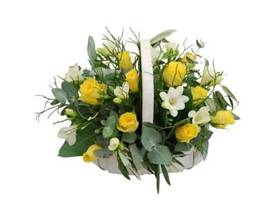 Spring Harmony Basket Fresh Flowers Free Uk Delivery With Images Beautiful Bouquet Of Flowers Flowers Flowers Delivered
