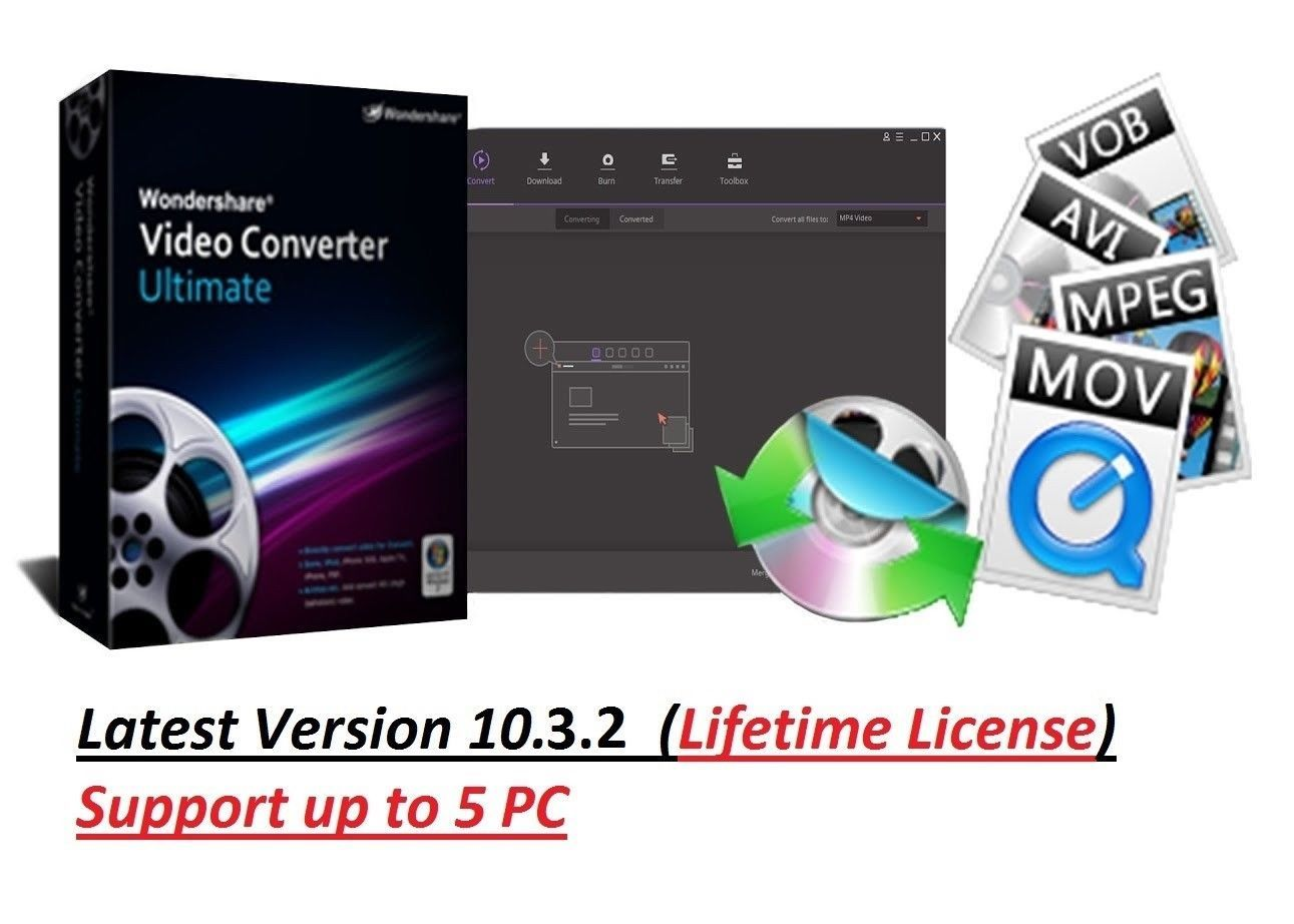 Software 40134 Wondershare Video Converter Ultimate 10 3 2 Latest Version Lifetime License Buy It Now Only 14 99 On Video Converter Life Blogs Software