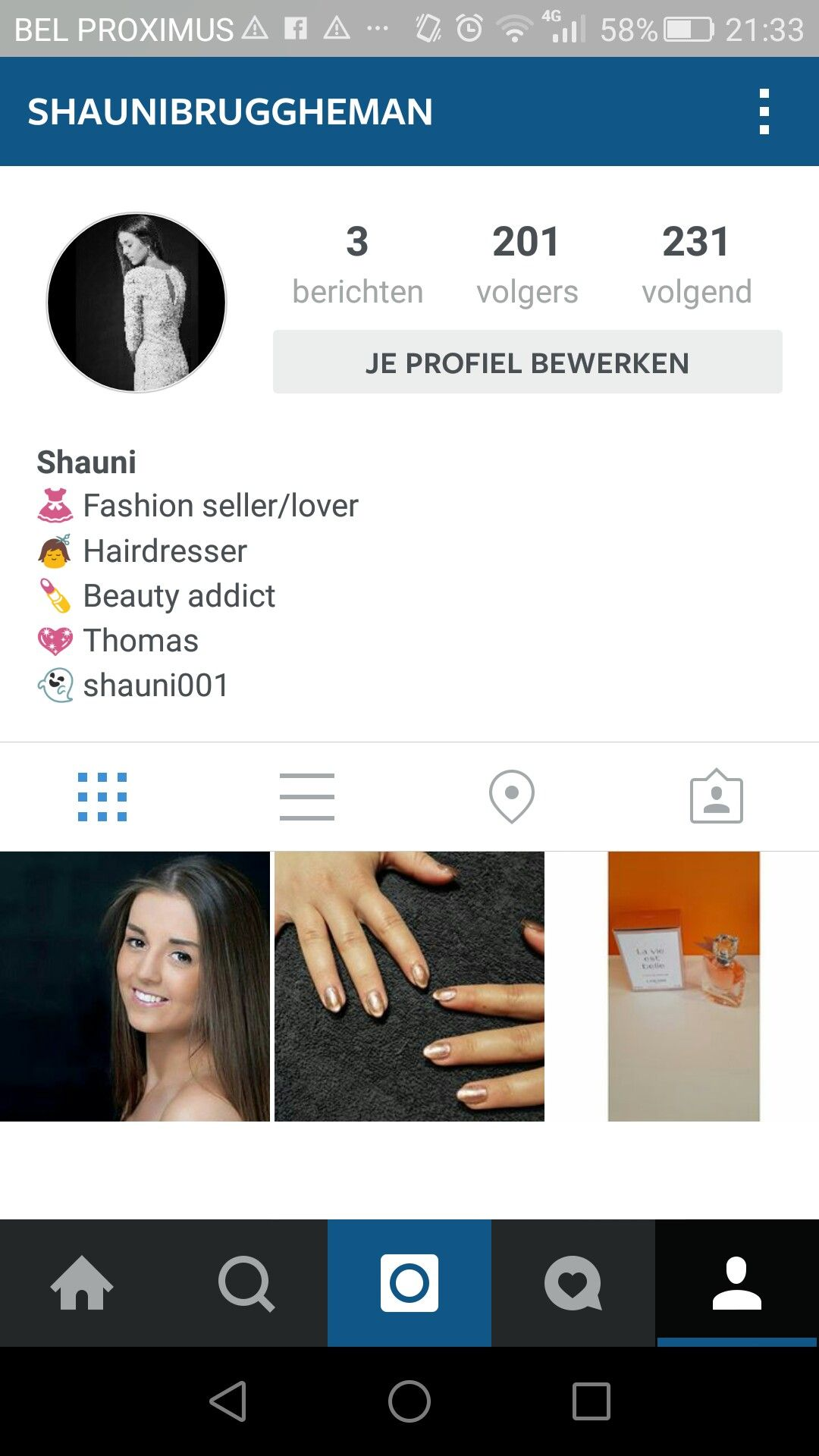 Follow my new insta for fashion, beauty and more! Help me get followers and likes ✌