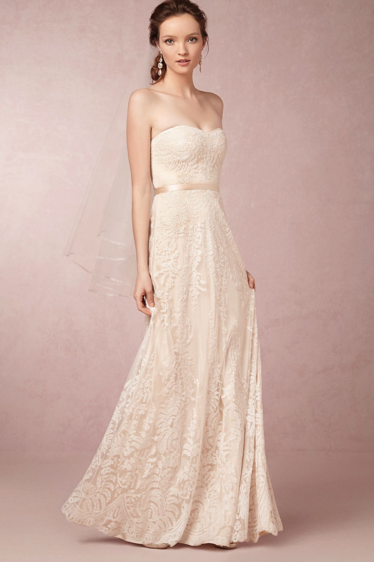 wedding gowns that are simple and elegant bhldn gowns and navy