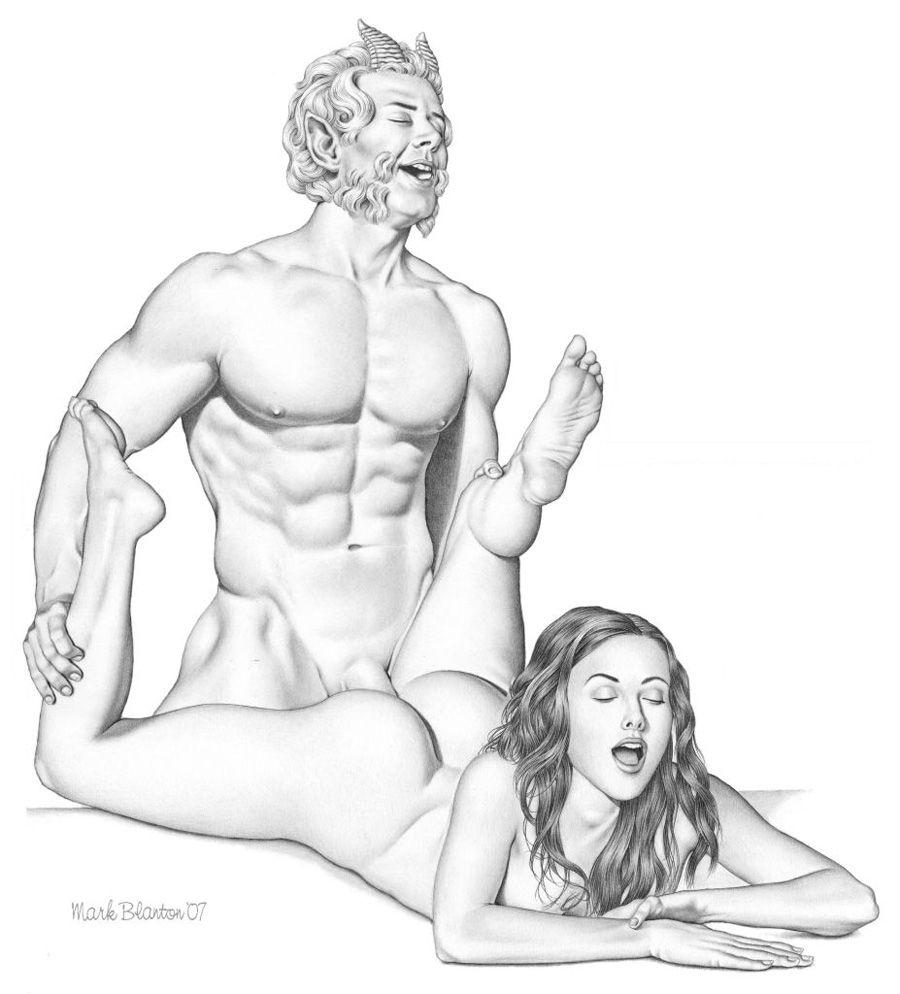 девки рисуют голого мужика кончил