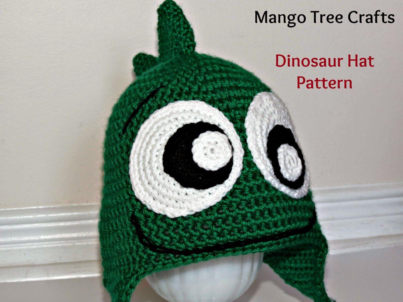 Free dinosaur crochet pattern | crochet patterns | Pinterest