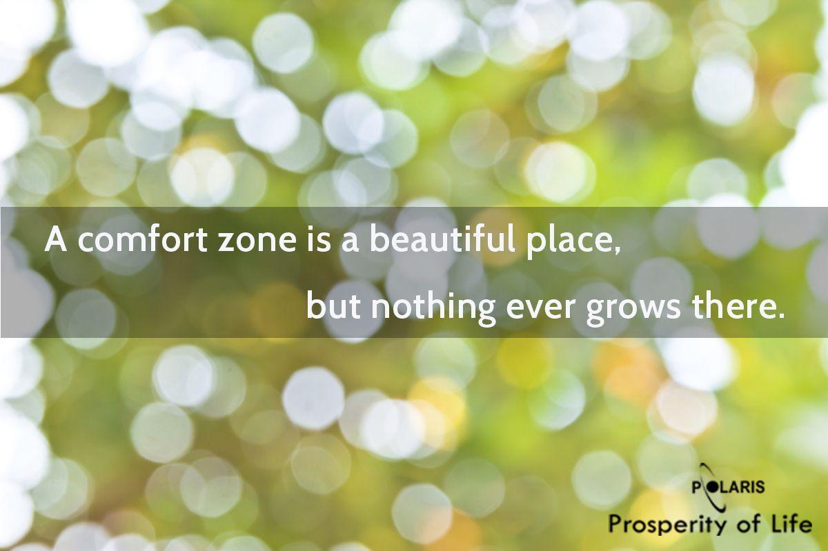 Prosperity of Life | Rachel Krider | Shane Krider | Personal Development | Success Education | Inspiration | Graphic Design | Quote | Comfort Zone