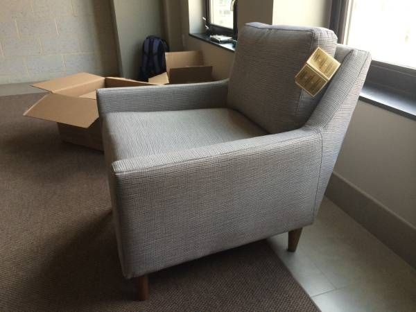 Craigslist Crushes West Elm Modern Couch West Elm Chair