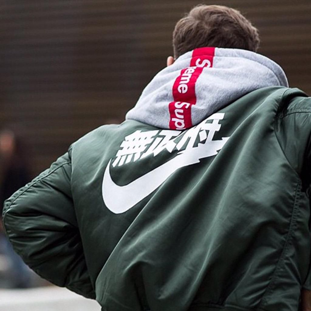 Nike jacket in chinese - Air Tokyo Ma 1 Bomber Jacket