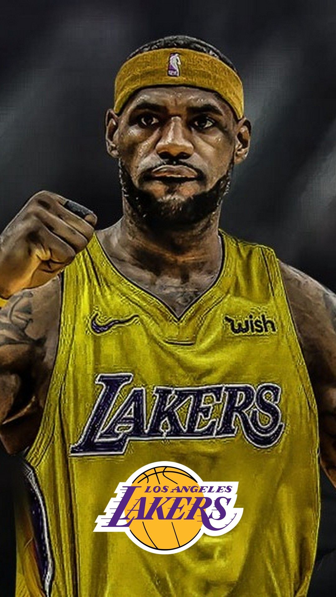 Lebron James Lakers Hd Wallpaper For Iphone Lebron James Lakers
