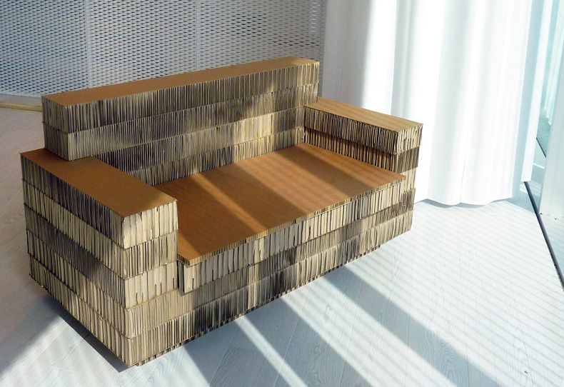 A4adesign mobili e allestimenti in cartone cardboard pinterest mobili cartapesta e hobby - Mobili in cartone ...