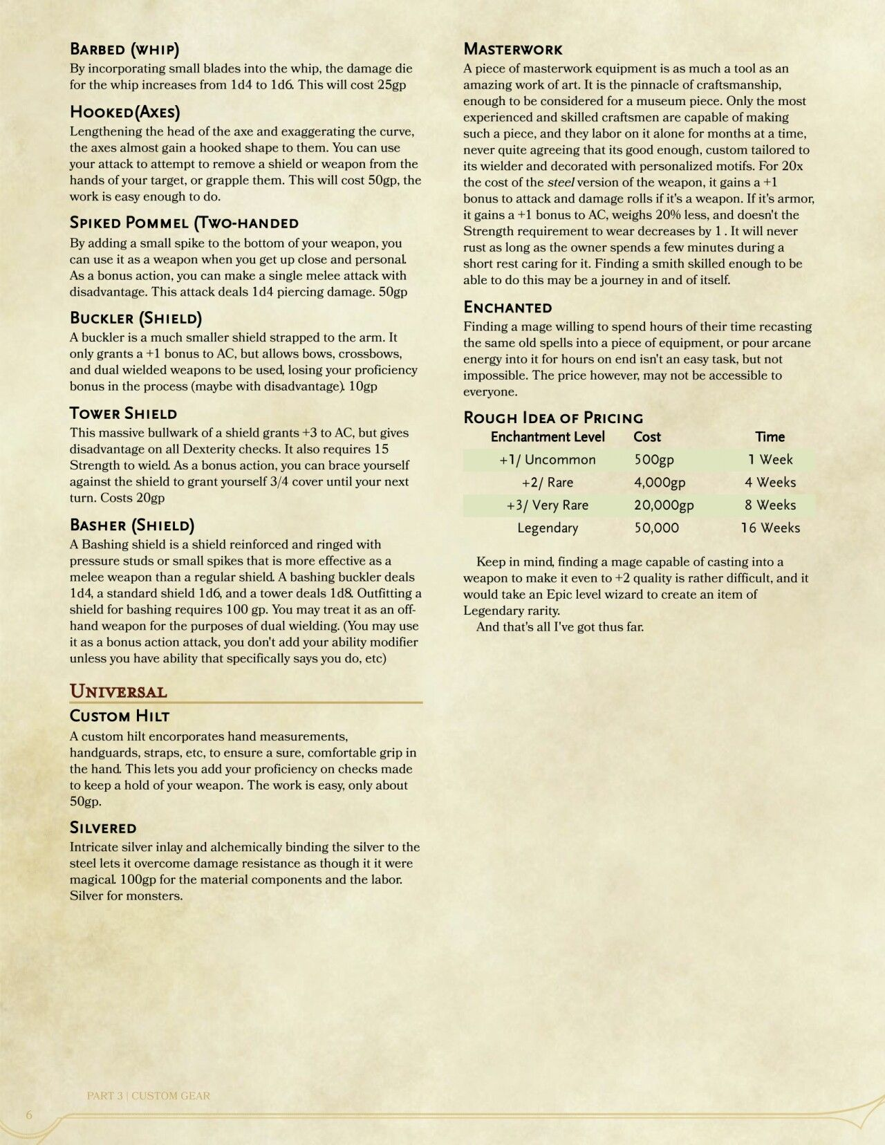 Dnd 5e Homebrew, D&d Dungeons And Dragons, Dungeons And Dragons Homebrew