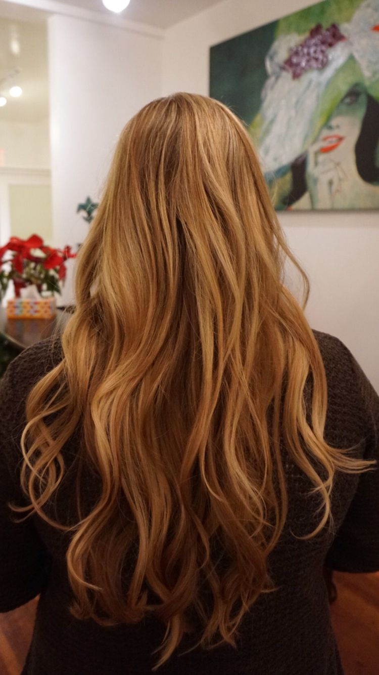 Traditional Foils And Balayage Highlights By Holly At Blueprint Modern Hair In Portland Or Blonde Bal Long Hair Styles Modern Hairstyles Balayage Highlights