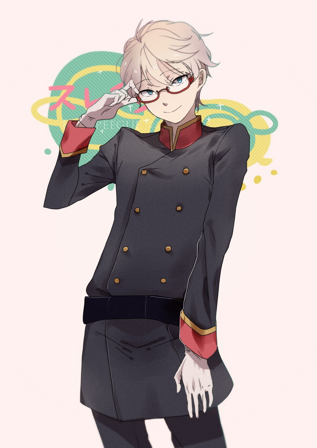 Slaine Troyard Anime, Tsukiuta the animation, Hot anime boy