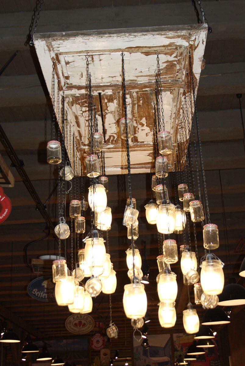 mehrer lampen in einer rheihe decke