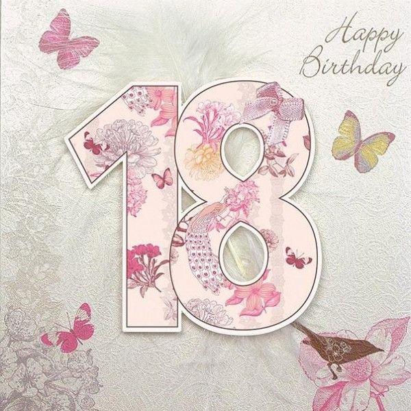 Youre 18 now Happy 18th Birthday Chloe Pinterest – Happy 18th Birthday Card