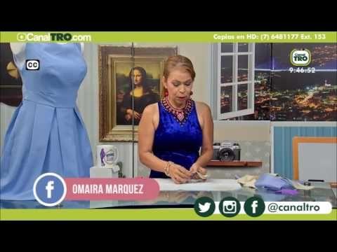 8b52cd99fa Confección Blusa Campana de Tiras- Omaira TV - YouTube