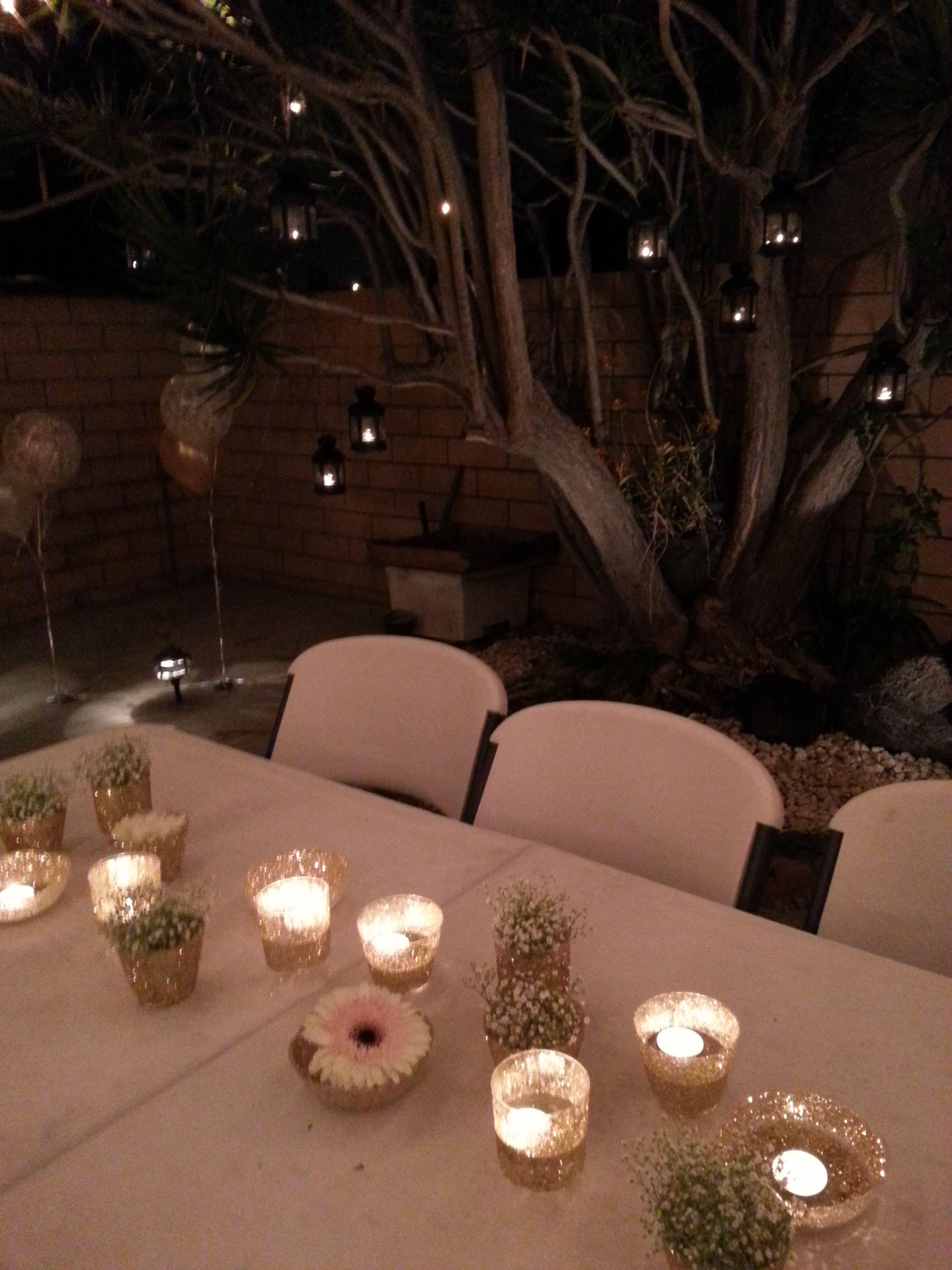 Backyard Party Decorations  Lanterns, Centerpieces  Dollar Tree Plastic