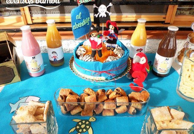 Cumpleaños pirata