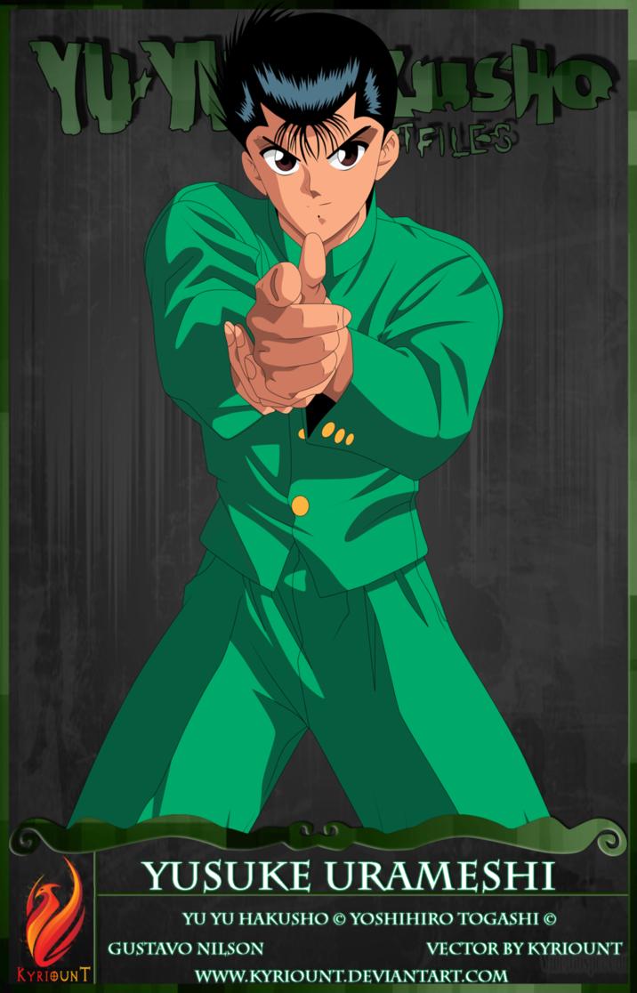 Yusuke Urameshi 03 by Kyriount on deviantART Anime love