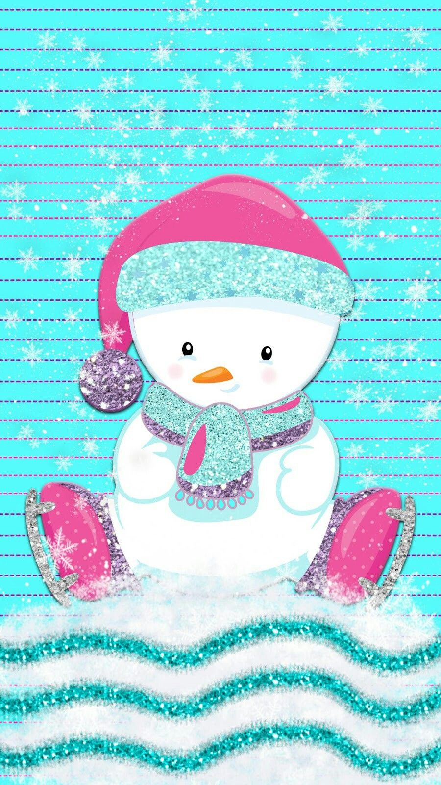 Cute Snowman Christmas Kids Wallpaper Cute Christmas Wallpaper