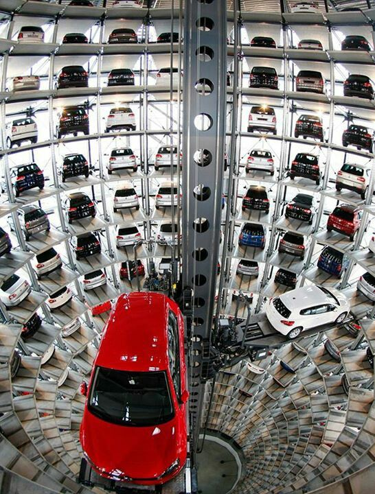 VW parquing tower