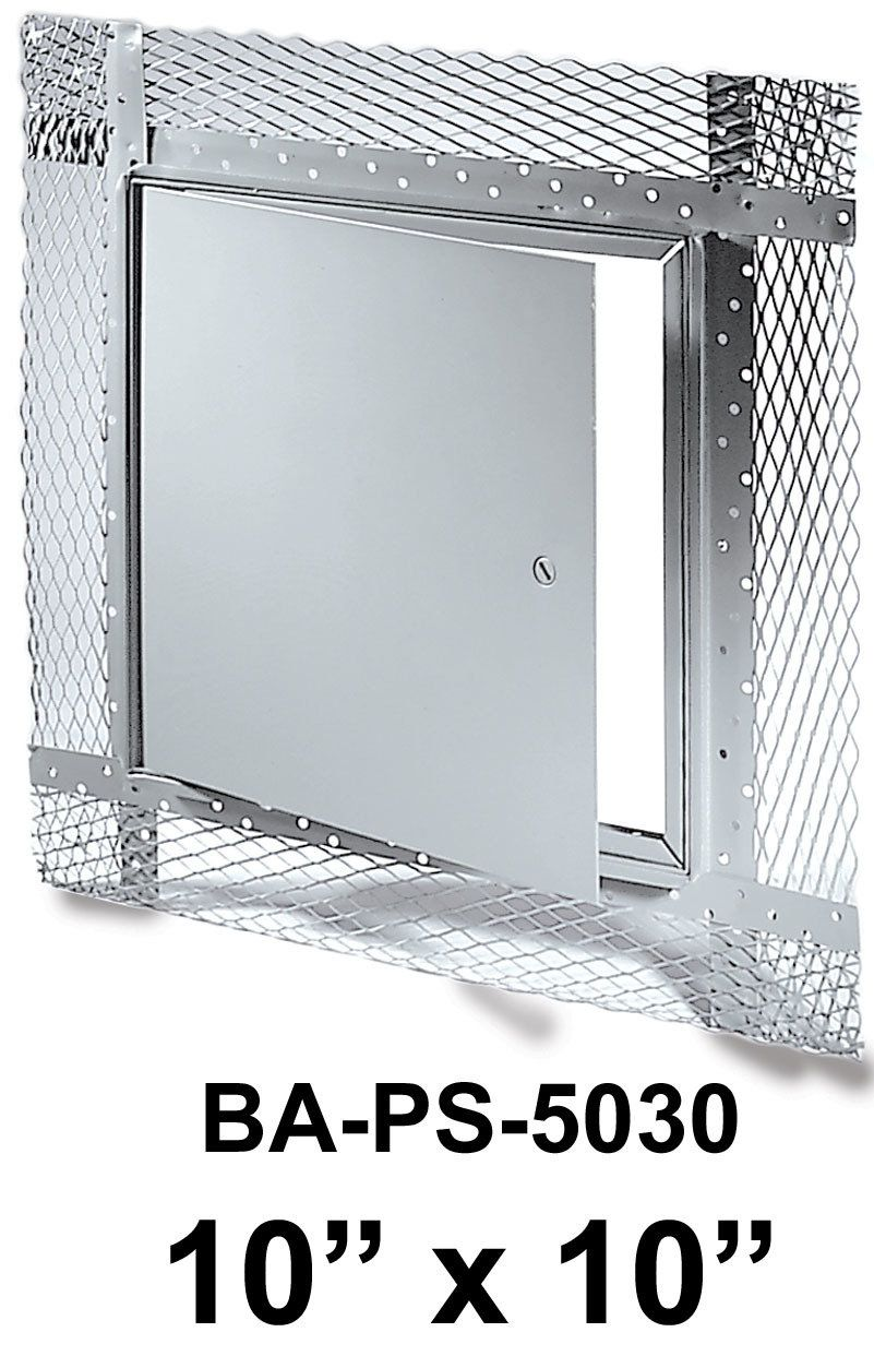 10 X 10 Flush Access Door For Plaster Walls Ceilings Plaster Walls Kitchen Appliance Storage Outdoor Kitchen Appliances