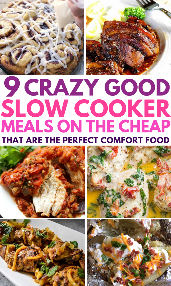 Best Cheap Slow Cooker Recipes That Are Also Healthy These Low Carb And Easy Comfort Foods Are Perfect For Families Recipes Cooker Recipes Slow Cooker Recipes
