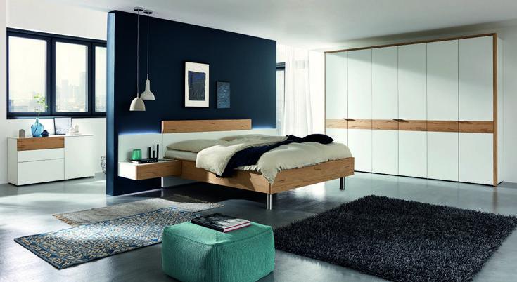 Hülsta Citada slaapkamer Wohnung, Design