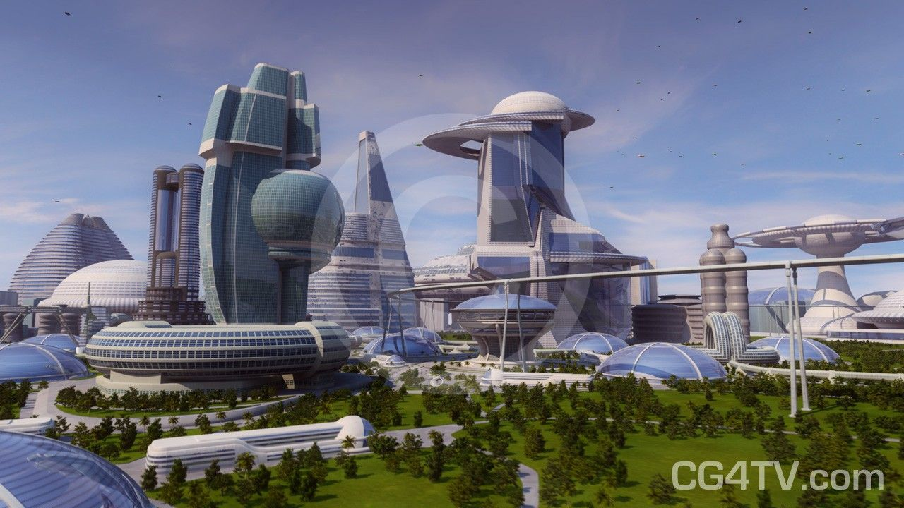 Green Cities Google 검색 Future city, Futuristic