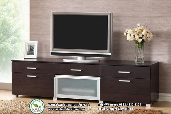 Bufet Tv Jati Minimalis Modern 2018 Meja Tv Modern