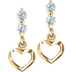 ca3bbe8ecbaa1 Ben Moss Jewellers Cubic Zirconia, 14k Gold Earrings | Nice to have ...