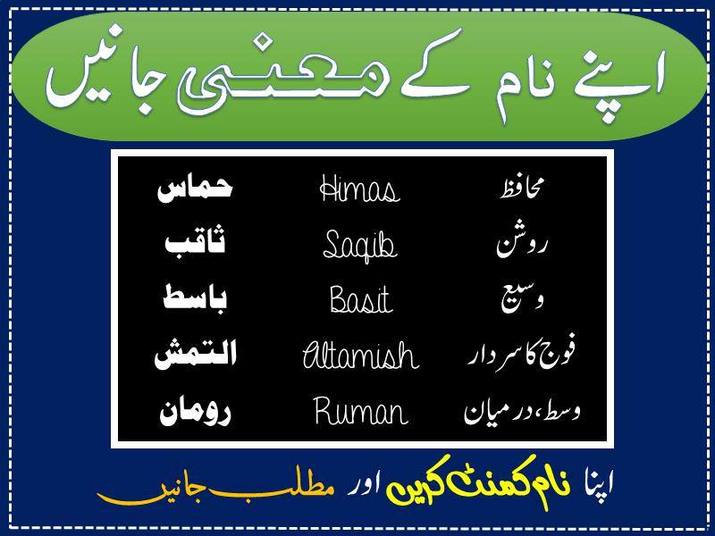 23++ Boy names list muslim in urdu with meaning ideas in 2021