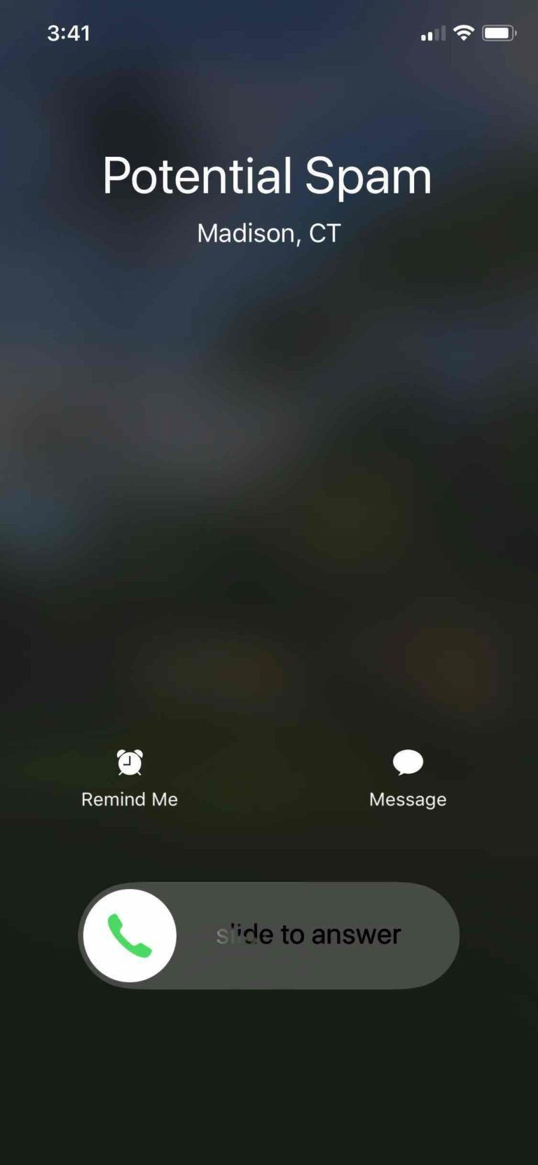 where is call blocking and identification on iphone