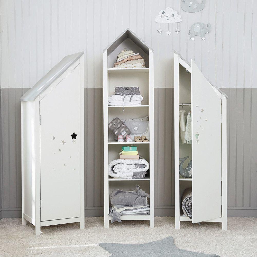 Kleiderschrank 1 t r wei emma s room baby room decor for Maison du monde camerette per bambini