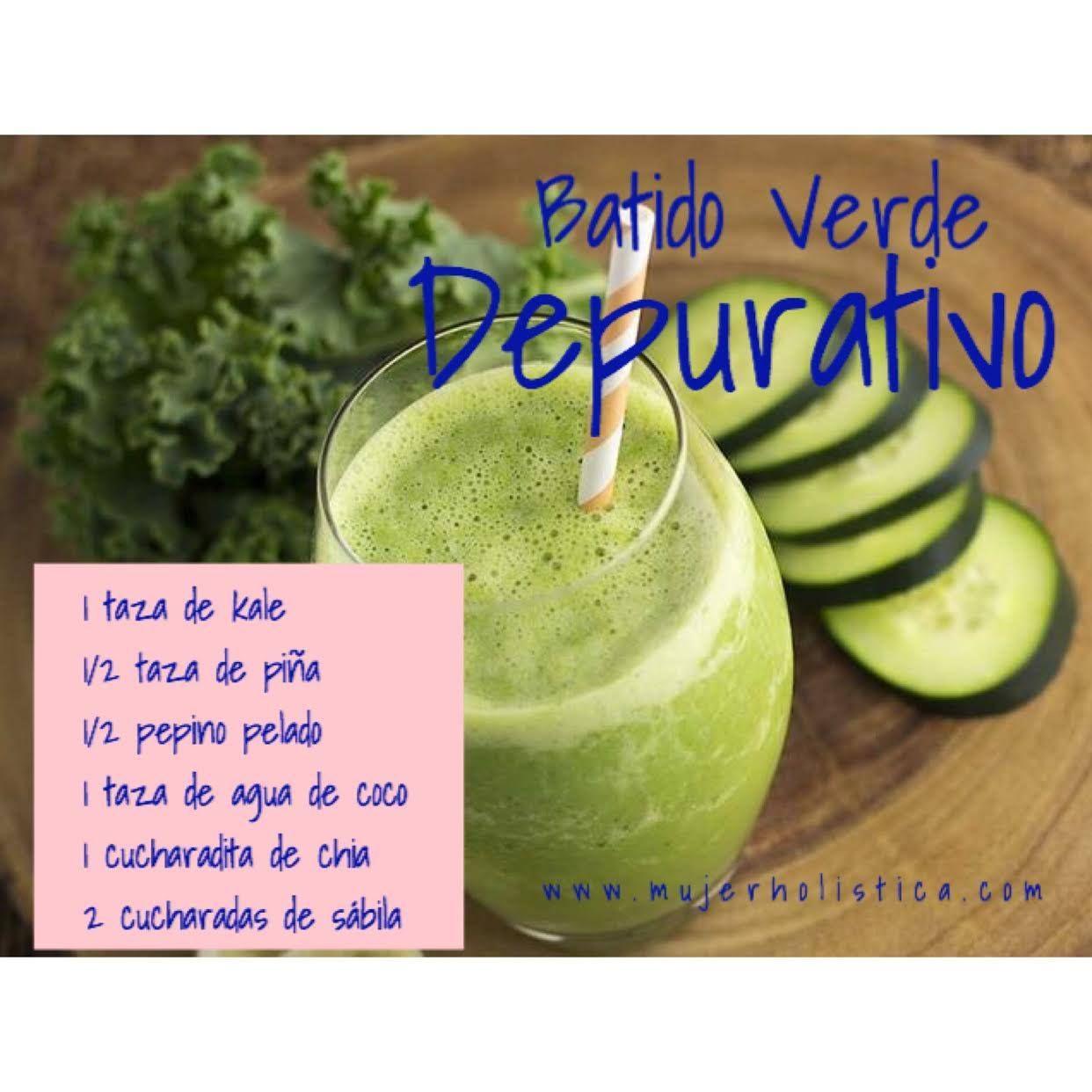 El kale es altamente desintoxicante y limpia el hígado y la sangre ...