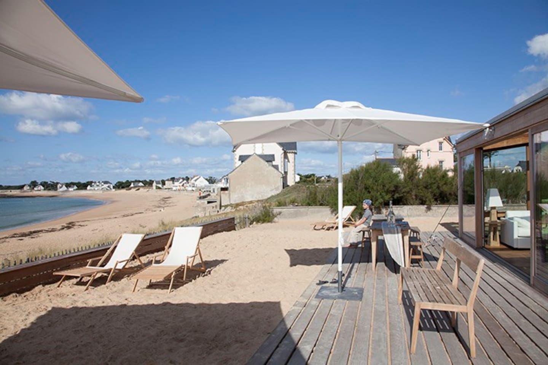 sur la plage 5 pieces in the sand Wohnungen zur Miete